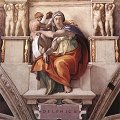 Michelangelo - Sistine Chapel, Five Sibyls, The Libyan Sibyl (1511)